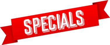 Specials over Christmas and New Year - big discounts on fees